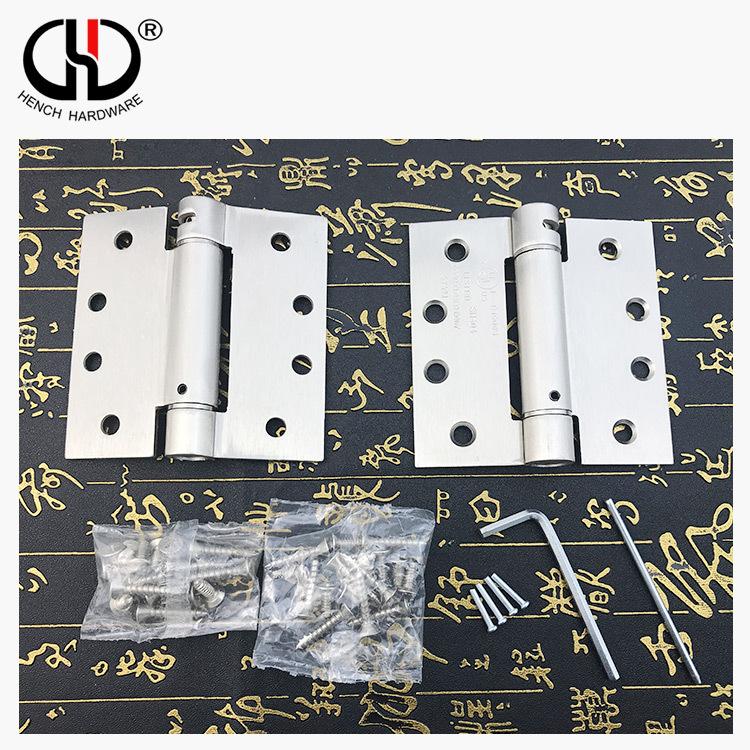 Modern folding metal hardware accessories iron material spring door hinge