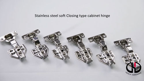 High quality stainless steel soft closing kitchen cabinet hinges