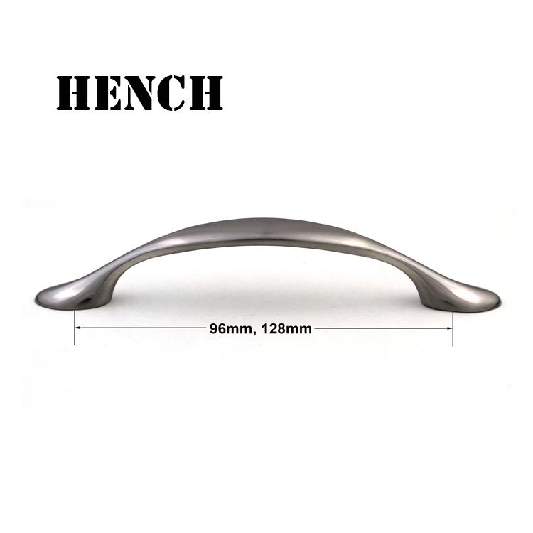 Zinc alloy material door handle for kitchen cupboard drawer