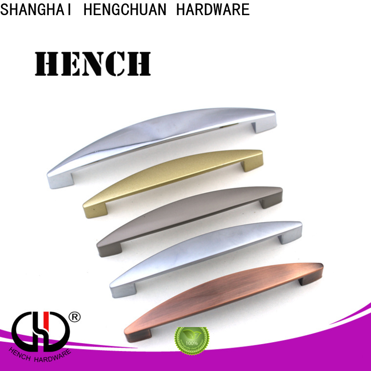 Hench Hardware modern style zinc door pull handle customized for furniture drawers