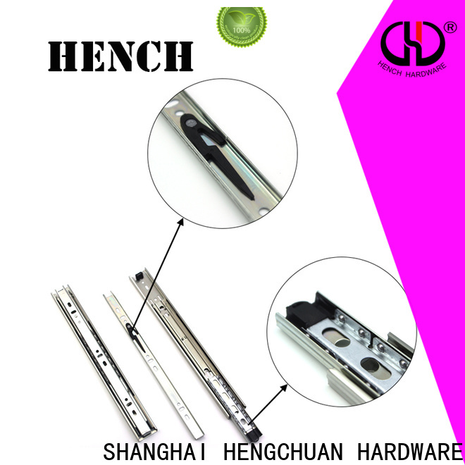 Hench Hardware well-made replacement drawer slides with good price for furnitures