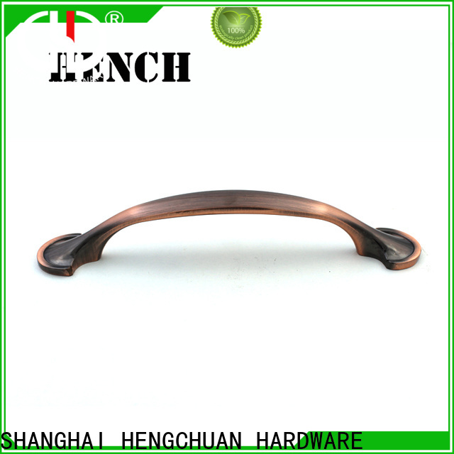 Hench Hardware modern style zinc alloy door handle customized for furniture drawers