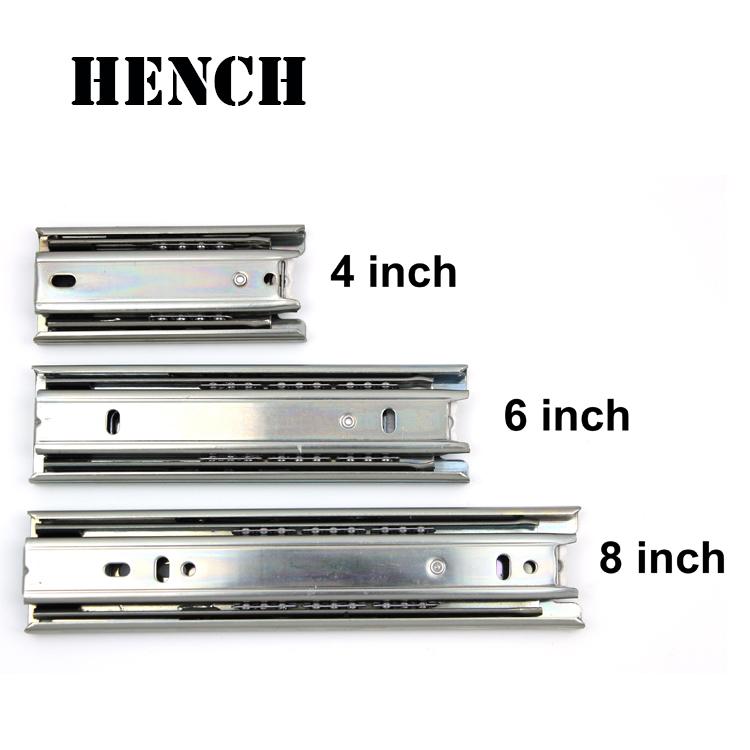High quality mini ball bearing drawer slide 45mm width