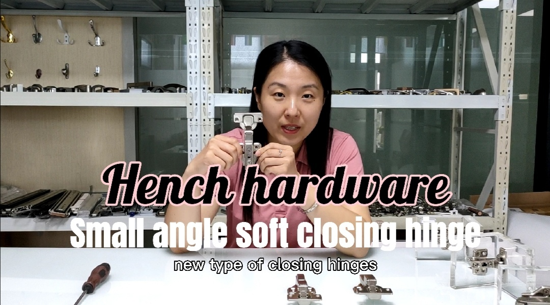 Hot selling small open angle soft closing cabinet hinge