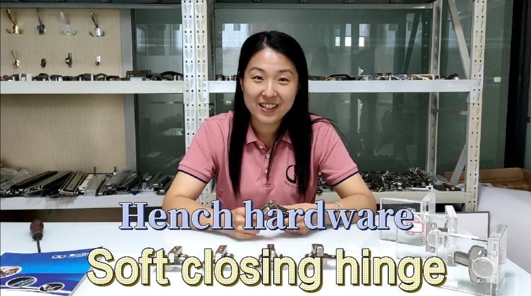 HJ816 clip-on soft closing furniture kitchen hinge