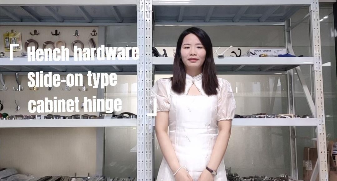 Good quality slide on type cabinet hinge