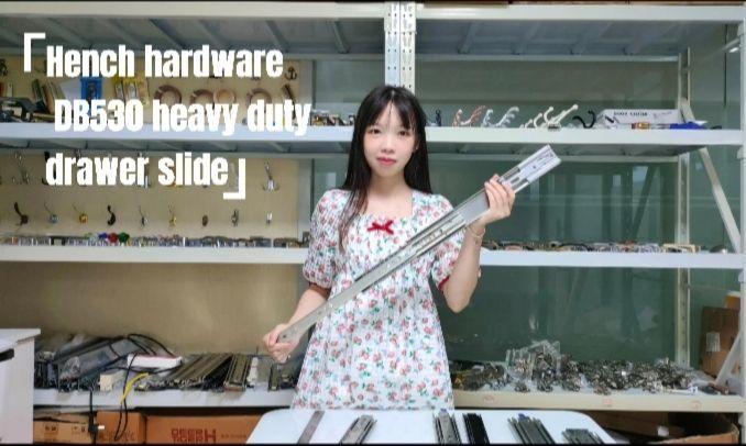 Heavy duty drawer slide DB530