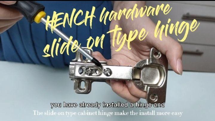 Hot selling Hench slide on type hinge H204