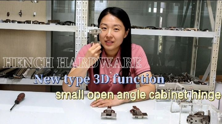 High quality furniture cabinet or door hinge small angles have soft closing function with cup cover