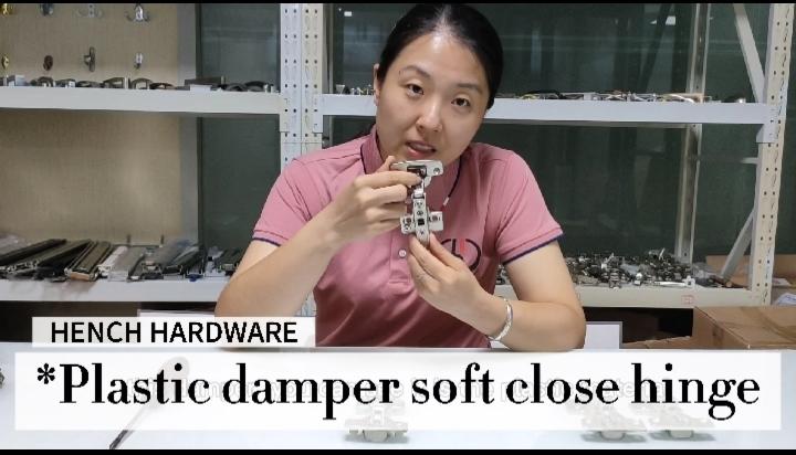Top selling furniture hardware steel material concealed hinge with plastic damper