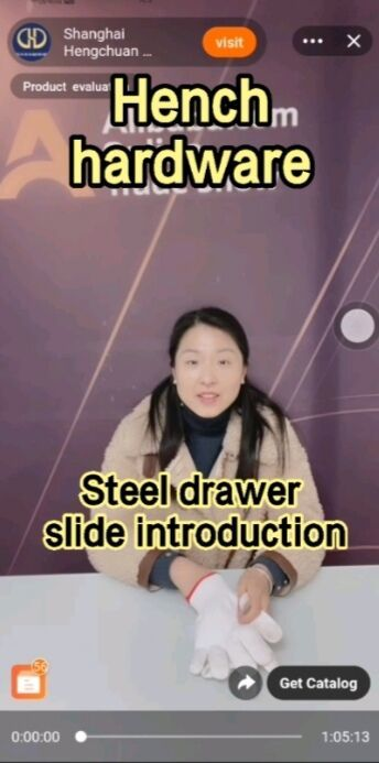 Steel drawer slide introduction