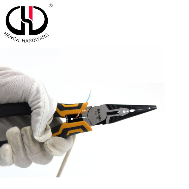 Precision multi-function needle nose pliers