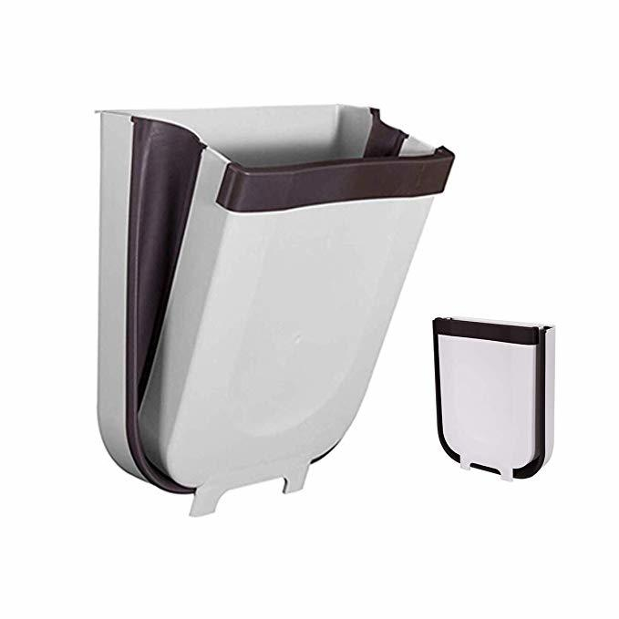 HENCH Eco-friendly sustainable collapsible cabinet door suitable hanging foldable trash bin