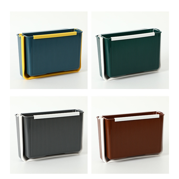 Collapsible outer PP material car waste bin dust bin for car using from HENCH